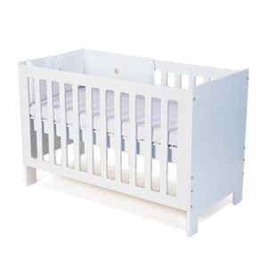 Wooden Cot (incl. mattress)
